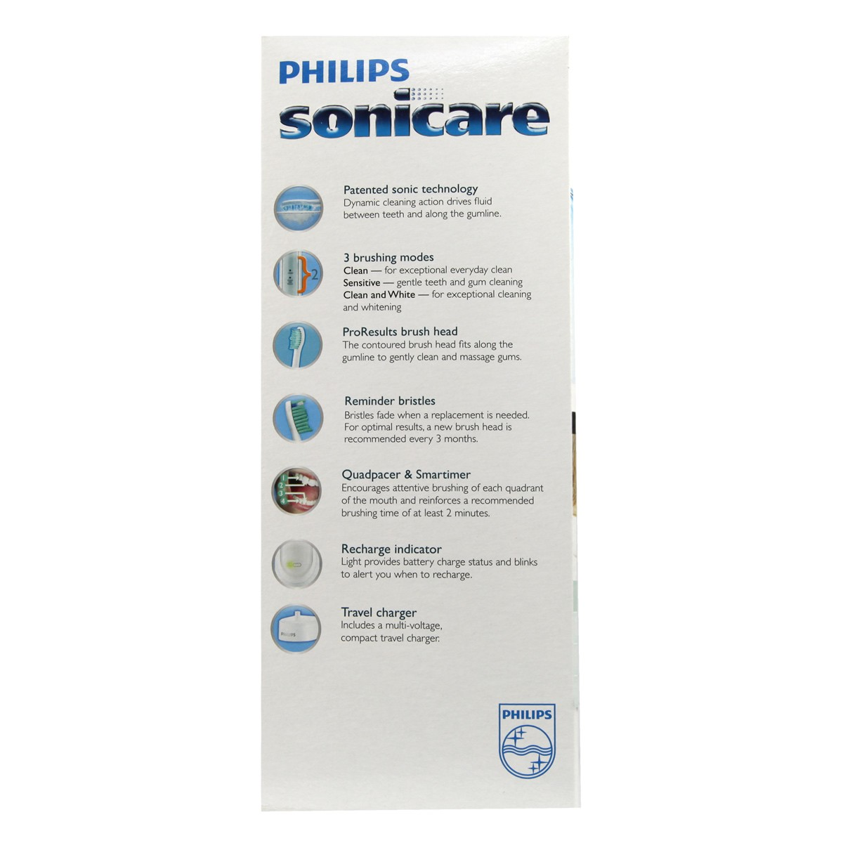 Philips Sonicare Healthy White Rechargeable Sonic Toothbrush