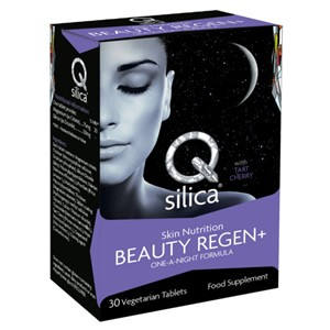 Planet Health Q Silica Skin Nutrition Beauty Regen+ One-a-Night Formula