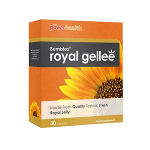 Power Health Bumbles Royal Gellee 500mg Capsules