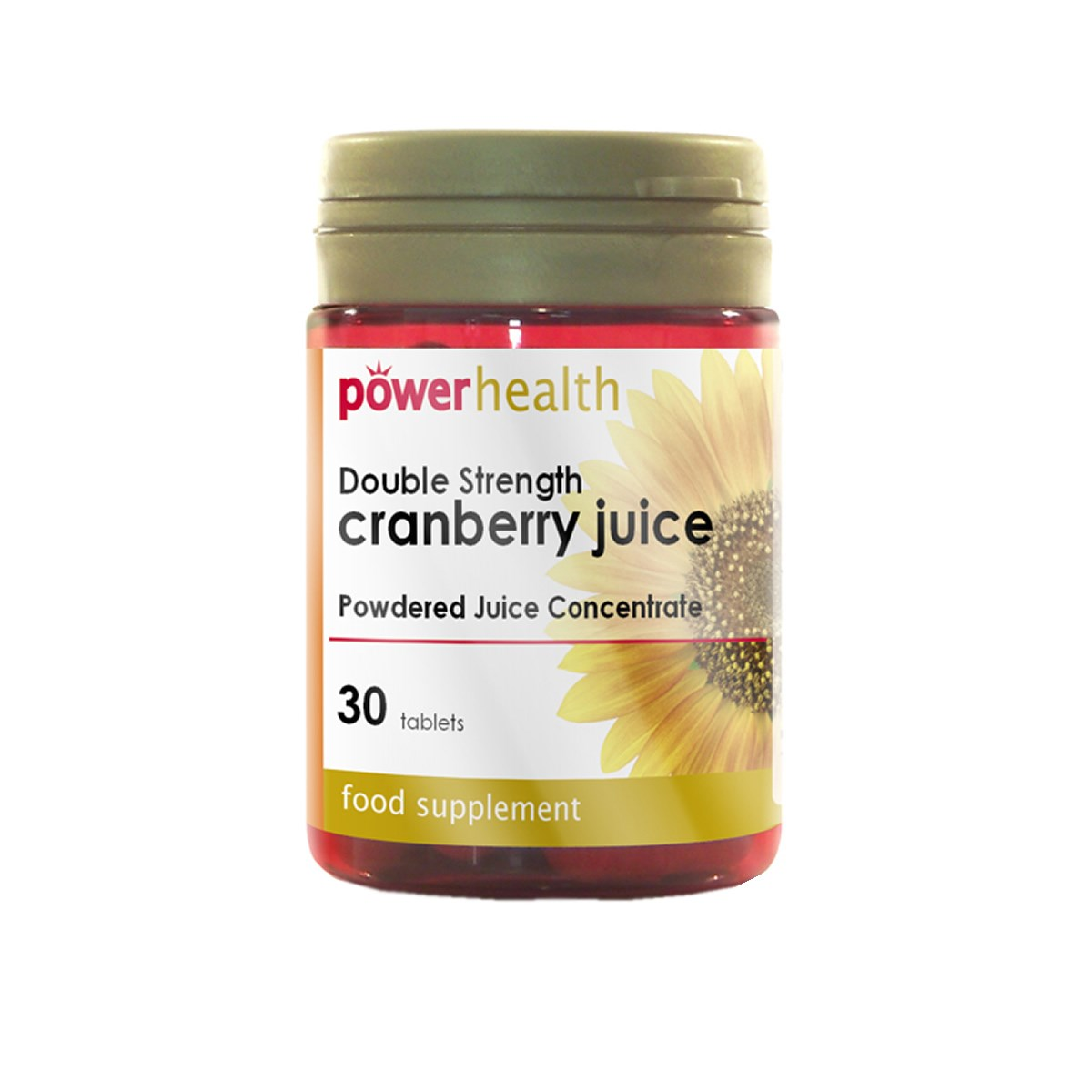 Power Health Double Strength Cranberry Juice Tablets