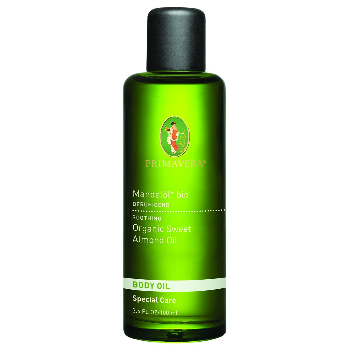 Primavera Organic Sweet Almond Body Oil