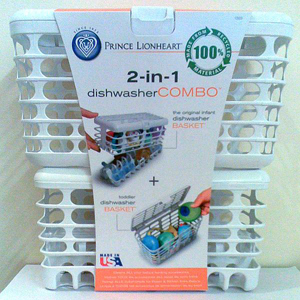 Prince Lionheart Infant and Toddler Dishwasher Basket Combo