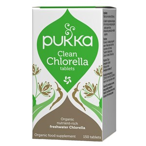 Pukka Clean Chlorella Tablets