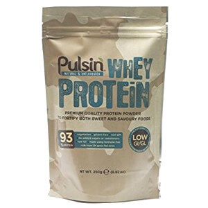 Pulsin Natural & Unflavored Whey Protein Powder