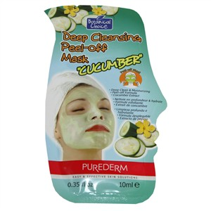 PureDerm Deep Cleansing Peel-Off Mask with Cucumber