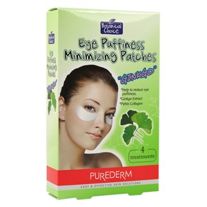 PureDerm Eye Puffiness Minimizing Patches - Ginkgo
