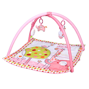 Red Kite Hello Ernest Playgym & Activity Mat - Pink