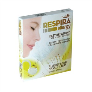 Respira Allergy Relief Nasal Filters