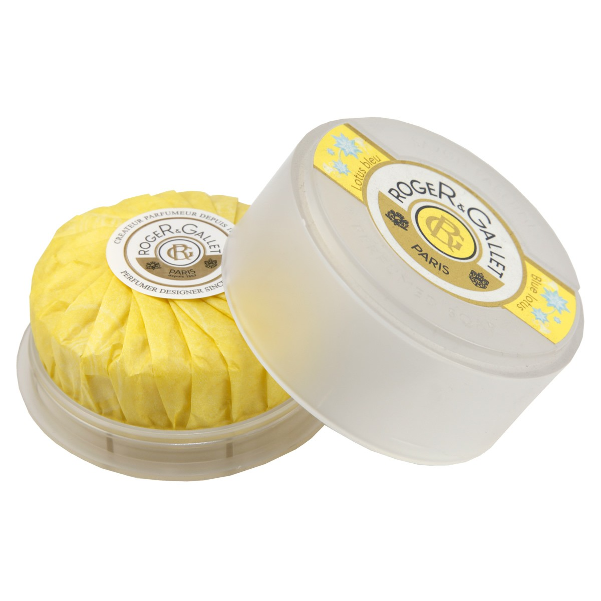 Roger & Gallet Blue Lotus Soap Travel Box