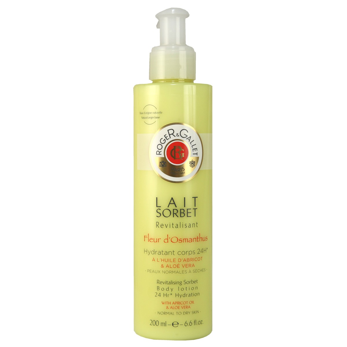 Roger & Gallet Fleur d'Osmanthus Revitalising Sorbet Body Lotion