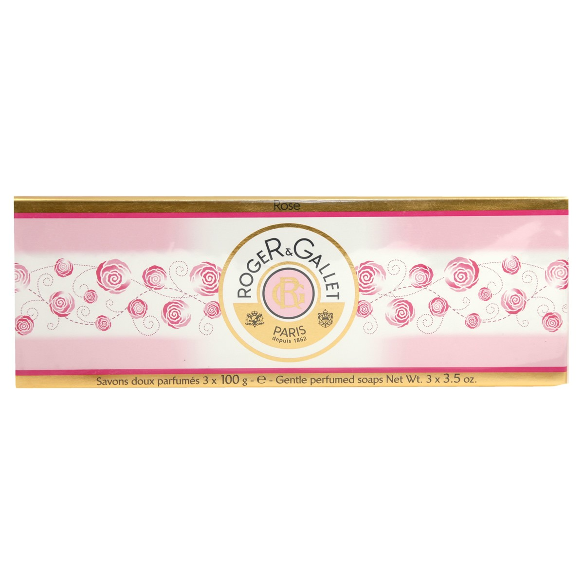 Roger & Gallet Rose Soap Coffret