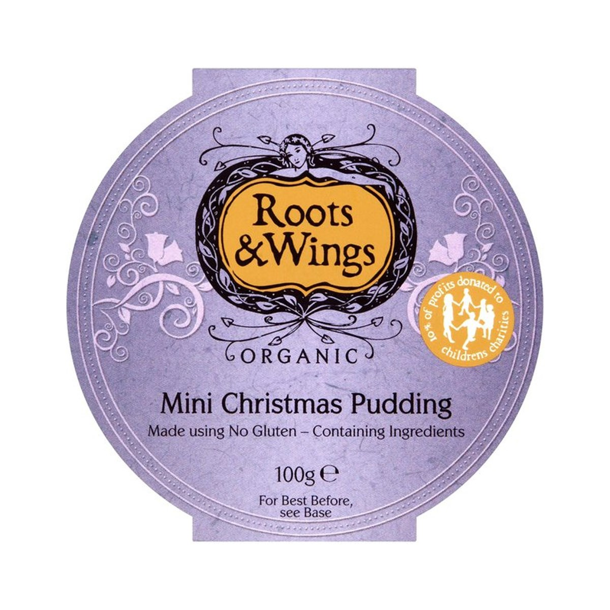 Roots & Wings Gluten Less Mini Christmas Pudding