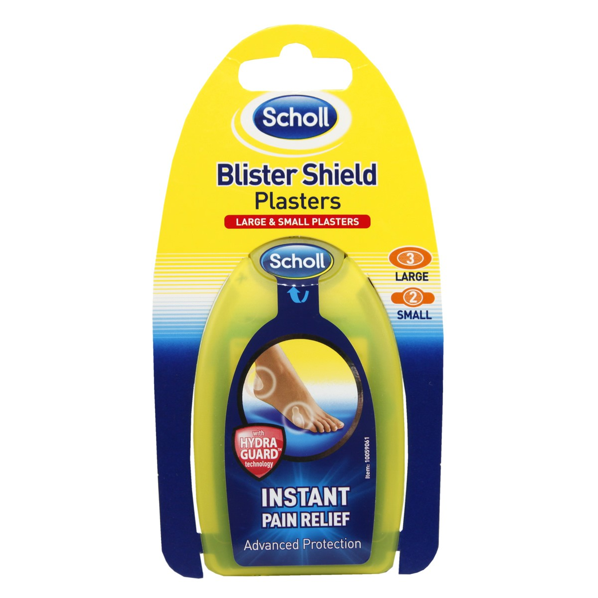 Scholl Blister Shield Plasters - Large & Small Plasters