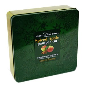 Scottish Fine Soaps Spiced Apple Pamper Tin