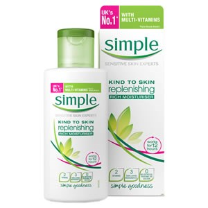 Simple Kind To Skin Replenshing Rich Moisturiser
