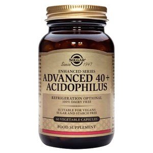 Solgar Advanced 40+ Acidophilus (Non-Dairy) Vegetable Capsules