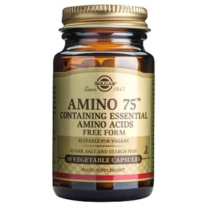 Solgar Amino 75 Vegetable Capsules