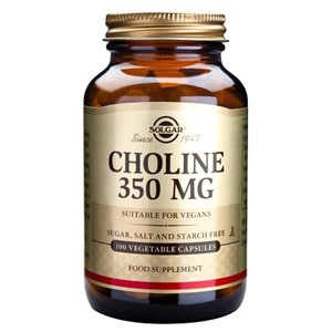 Solgar Choline 350 mg Vegetable Capsules