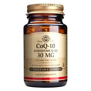 Solgar Coenzyme Q-10 30 mg Vegetable Capsules