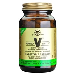 Solgar Formula VM-75® Vegetable Capsules