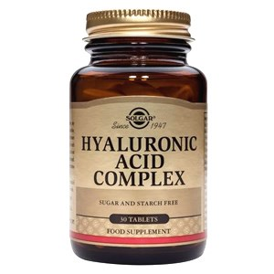 Solgar Hyaluronic Acid Complex Tablets