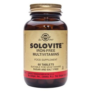 Solgar Solovite Iron-Free Multivitamins Tablets