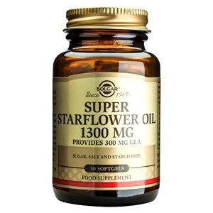 Solgar Super Starflower Oil 300 mg Softgels