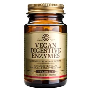 Solgar Vegan Digestive Enzymes Chewable Tablets