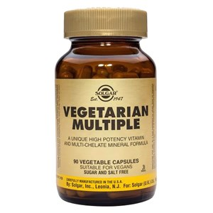 Solgar Vegetarian Multiple Vegetable Capsules