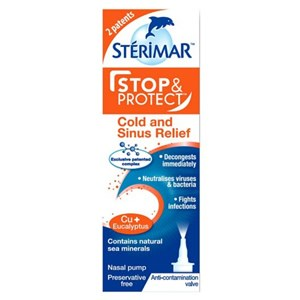 Sterimar Stop & Protect Cold and Sinus Relief