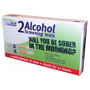 SureSign Alcohol Screening Tests