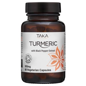 Taka Turmeric with Black Pepper Extract Capsules