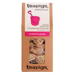 Teapigs Rhubarb and Ginger Tea
