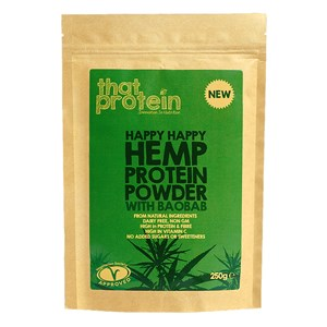 That Protein Happy Happy Hemp Protein Powder with Baobab