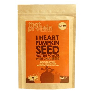 That Protein I Heart Pumpkin Seed Protein Powder with Chia