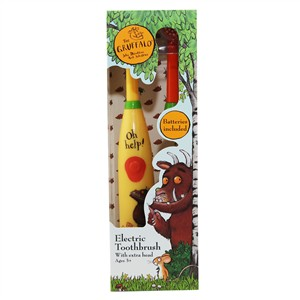 The Gruffalo Electric Toothbrush with Extra Head Age 3+