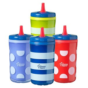 Tommee Tippee Essential Free Flow Insulated Big Chill (18m) 300ml Blue