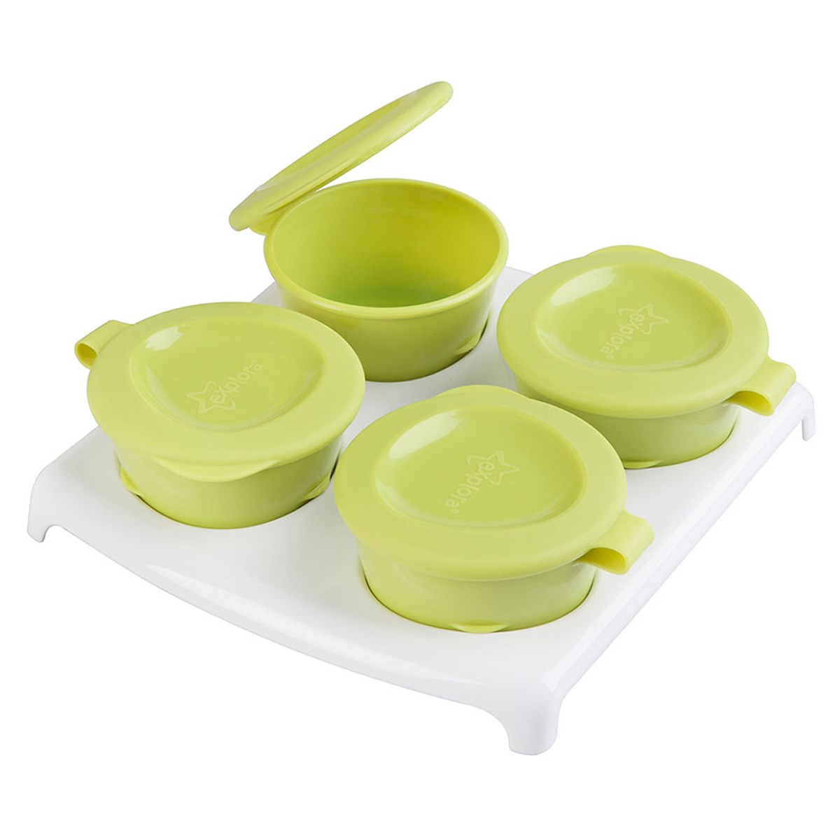 Tommee Tippee Explora Pop Up Freezer Pots & Tray (4m+ )