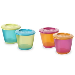Tommee Tippee Explora Pop Up Weaning Pots (4m+)