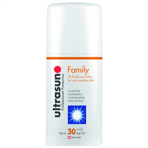 Ultrasun Family All Family Sun Lotion for Very Sensitive Skin