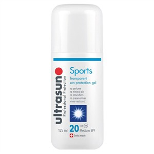 Ultrasun Sports Transparent Sun Protection Gel SPF20