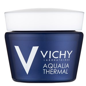 Vichy Aqualia Thermal Night Spa Replenishing Anti-Fatigue Cream-Gel