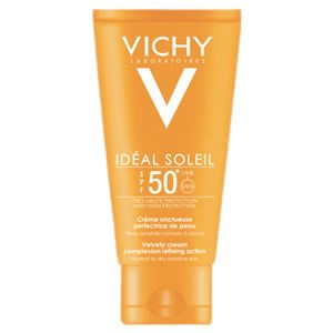 Vichy Capital Ideal Soleil Velvety Cream SPF 50+ Complexion Refining Action