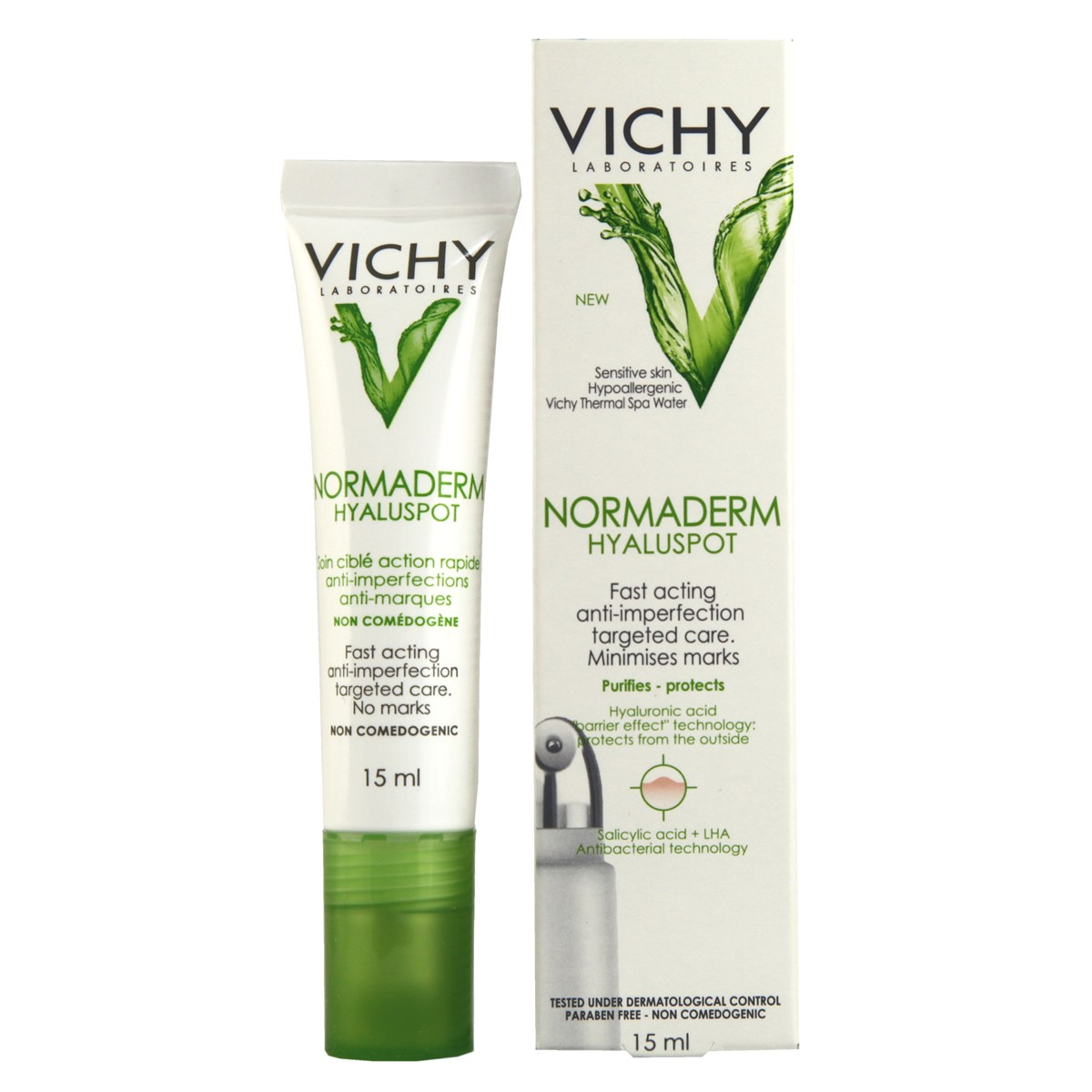 Vichy Normaderm Hyaluspot Fast-acting Anti-imperfection Targeted Care