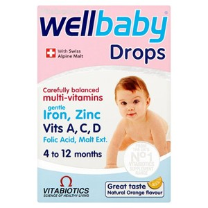 Vitabiotics WellBaby Multi-Vitamins Drops