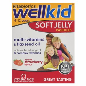 Vitabiotics WellKid Soft Jelly 30 Pastilles