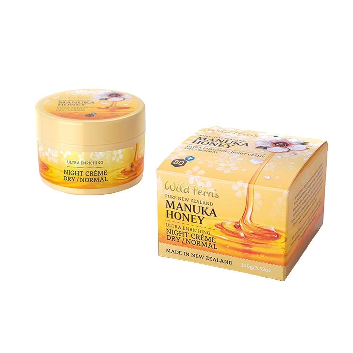 Wild Ferns Manuka Honey Ultra Enriching Night Cream - Dry to Normal
