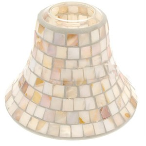Yankee Candle Accessories - Mother of Pearl Large Shade