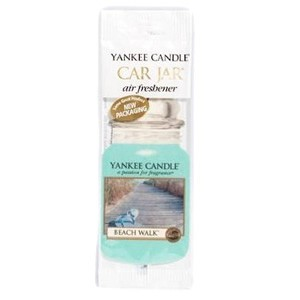 Yankee Candle Car Jar Air Freshener - Beach Walk