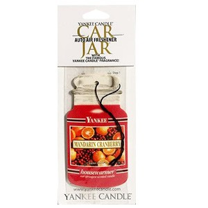 Yankee Candle Car Gel Air Freshener - Mandarin Cranberry